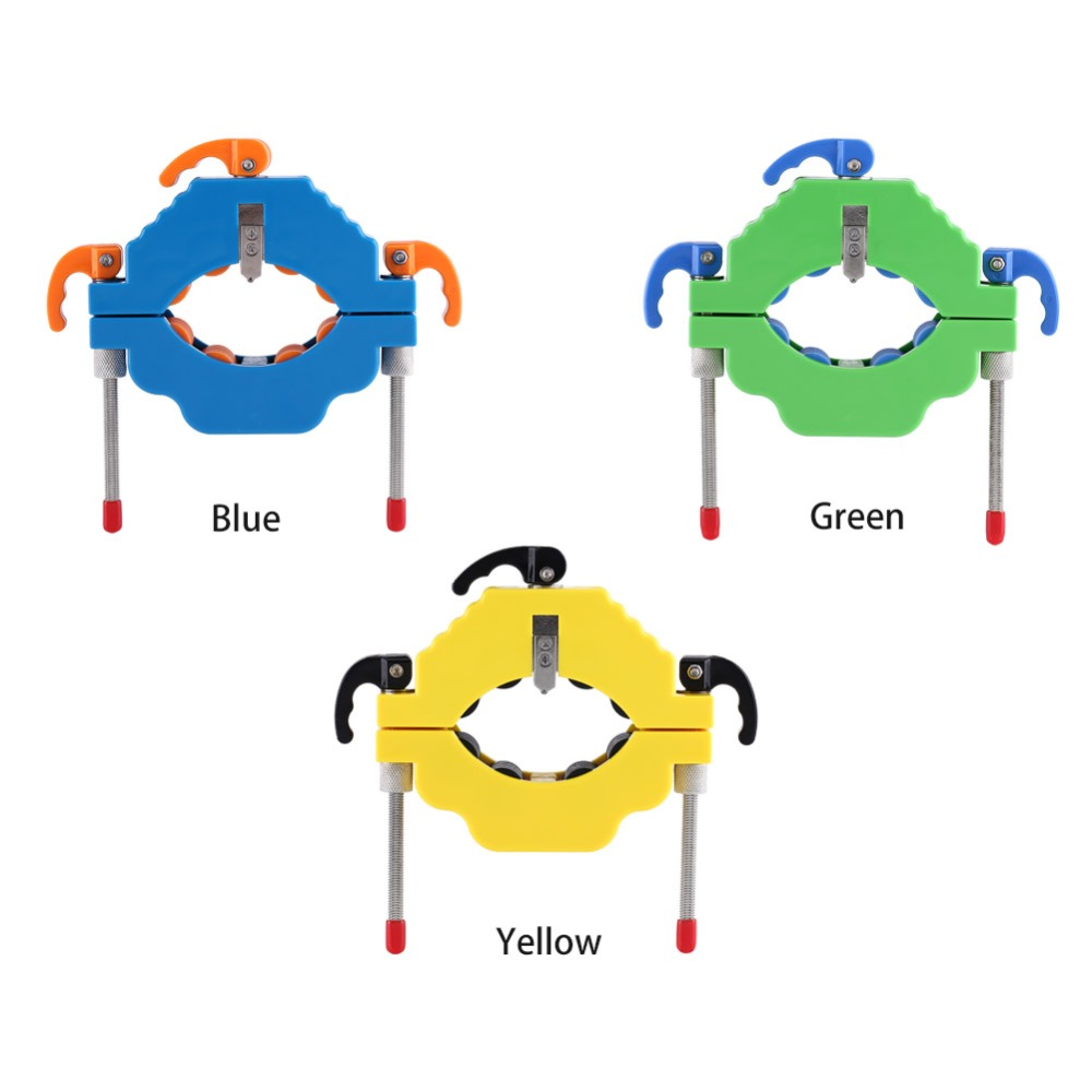 1pc Blue Yellow Green Optional Metal and plastic Glass Beer Wine Bottles Cutter Bottle Cutting Tool for Art Craft Making DIY ...