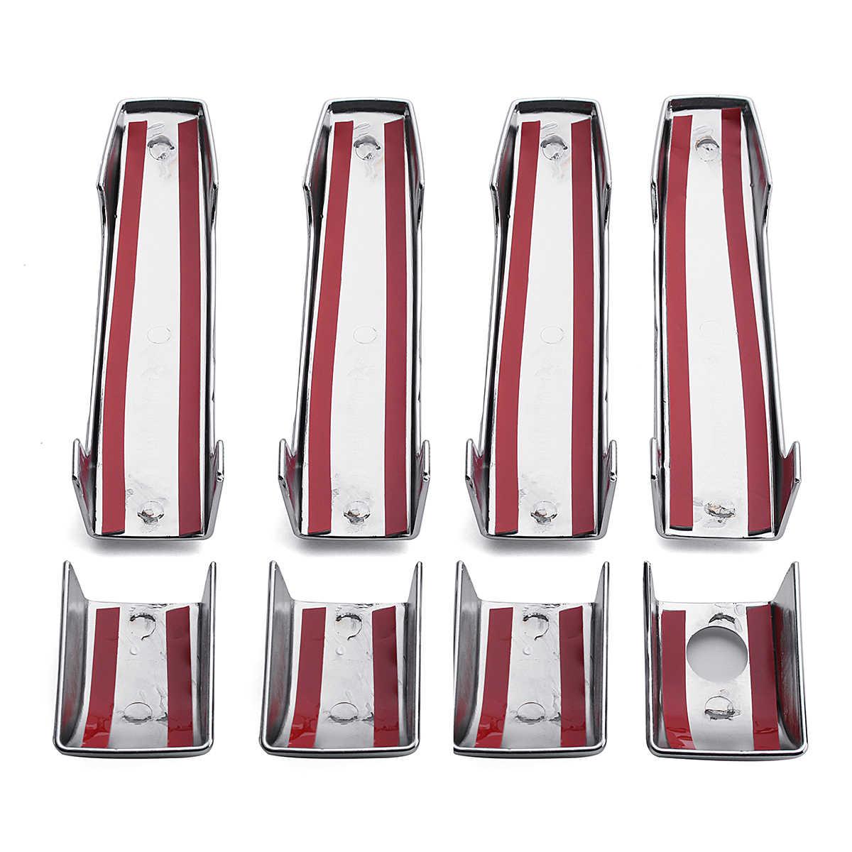 9pcs סט עבור טווח רובר L322 ווג 2002 2003 2004 2005 2006 2007 2008 2009 2010 2011 2012 2013 ABS כרום 4 דלת כיסוי ידית