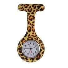 Silicone Stainless Round Dial Quartz Nurse Pocket Watch