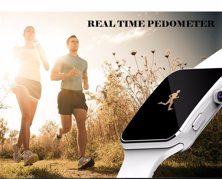 Fashion Black Sport Bluetooth Smart Watch For Android IOS Phone Call SIM Card Intelligent Watches 1.54'' HD LCD OGS Touch Screen (8)