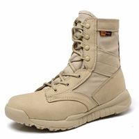 High Quality 2018 Outdoor Desert Ultra Light Summer Combat Boots Men Army Marine Boots Breathable Tactical