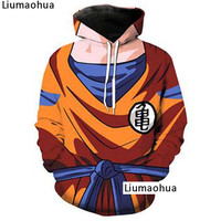Dragon Ball Hoodie Winter Men's Sweatshirt Pullover DrawString 3D Print Sun Wukong Skin Funny Harajuku Top s 5xl