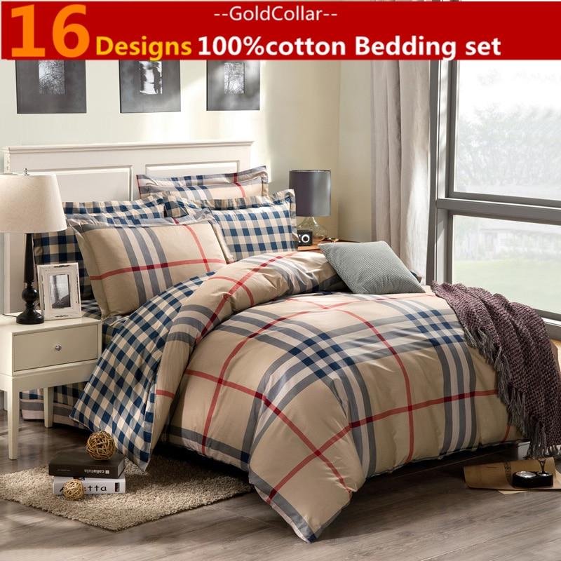 Home Textile Bedding 4 Pcs Bedding Set Bedclothes 100