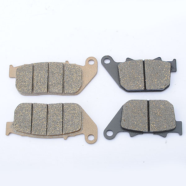 Front Rear Brake Pads For Harley 2004-2010 Sportster 1200 883 magnum black pearl upper front brake line 33 90 for harley