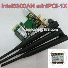 Intel окончательный — n 6300 PCI-1X карты 633 anhmw 802.11a / b / g / n 2.4 ГГц и 5.0 ГГц спектры 450 Мбит рабочего 6DBI