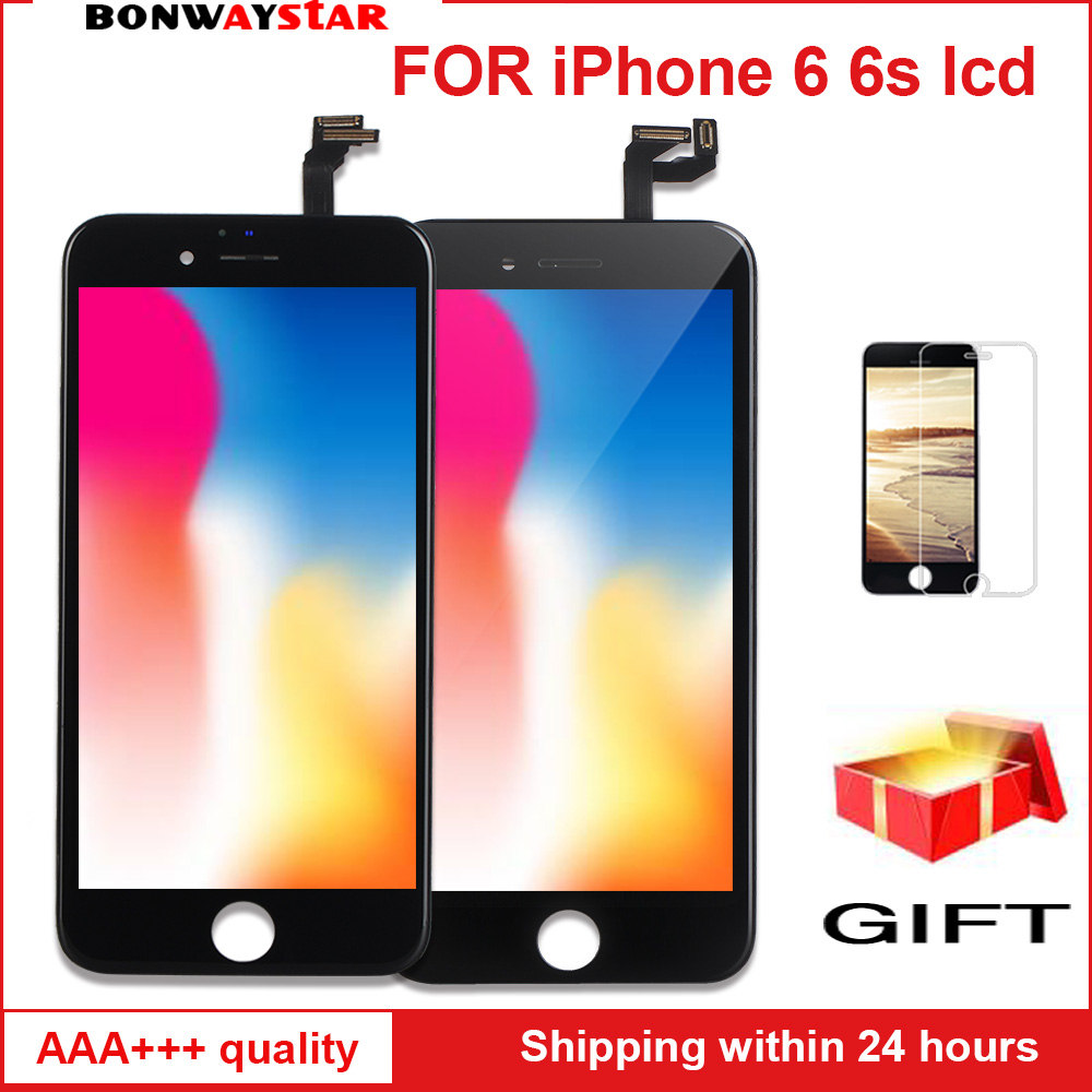 AAA LCD Screen For iPhone 6 6s Display Assembly Replacement with Original Digitizer Phone Parts for
