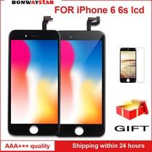 AAA ЖК-экран для iphone 6 6s дисплей сборка Замена с оригинальным дигитайзером Телефон Запчасти для iphone 6 ЖК Pantalla 5 pie