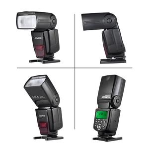 Image 3 - Andoer AD560 IV 2,4G беспроводной универсальный Slave Speedlite светильник GN50 w/Flash Trigger для Canon Nikon Sony A7 DSLR