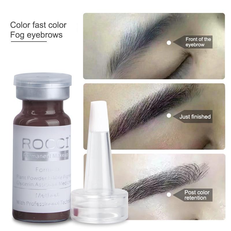2 Pcs Sourcils Lèvres Tatouage Maquillage Permanent Encre De - Tatouages et art corporel - Photo 2