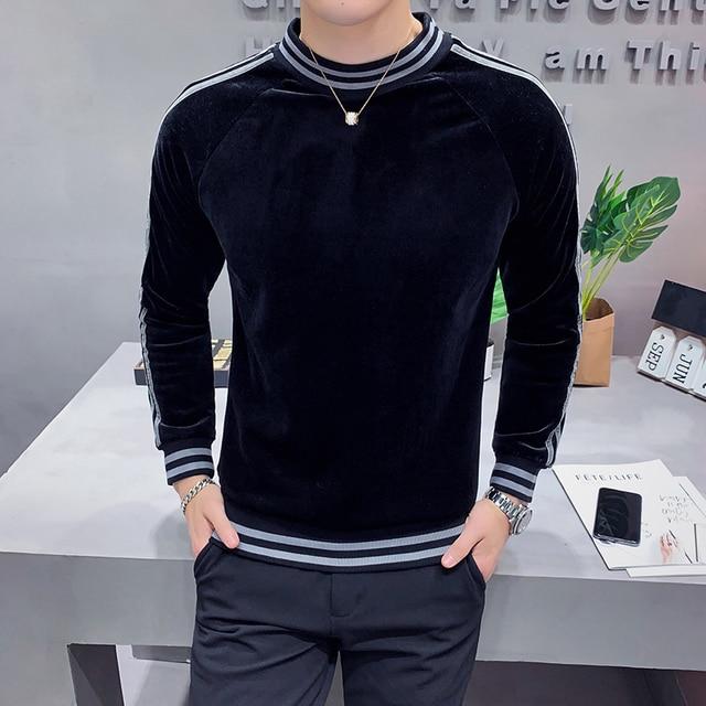 HIgh Fashion Velvet Sweatshirts 4