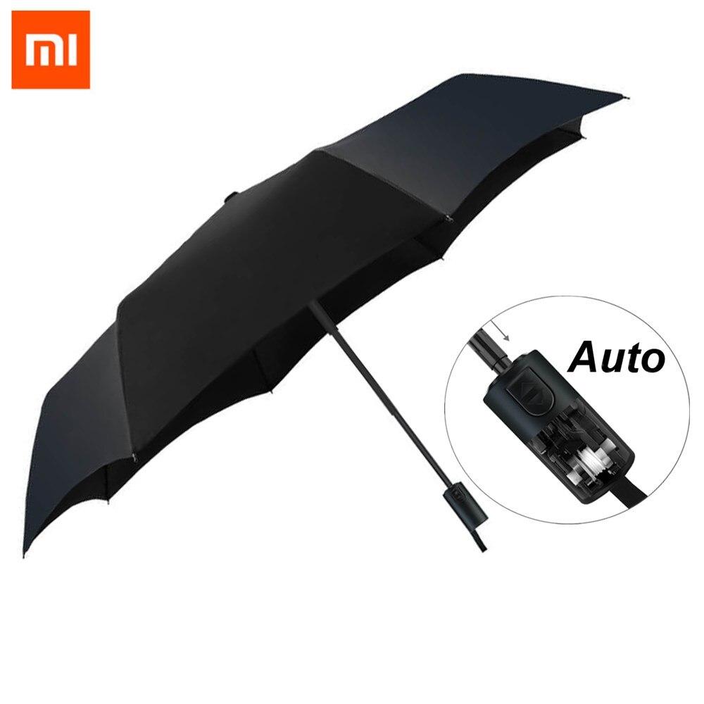 Original Xiaomi Mijia Pinlo Automatic Sunny Rainy Aluminum Windproof UV Man and woman Summer Winter
