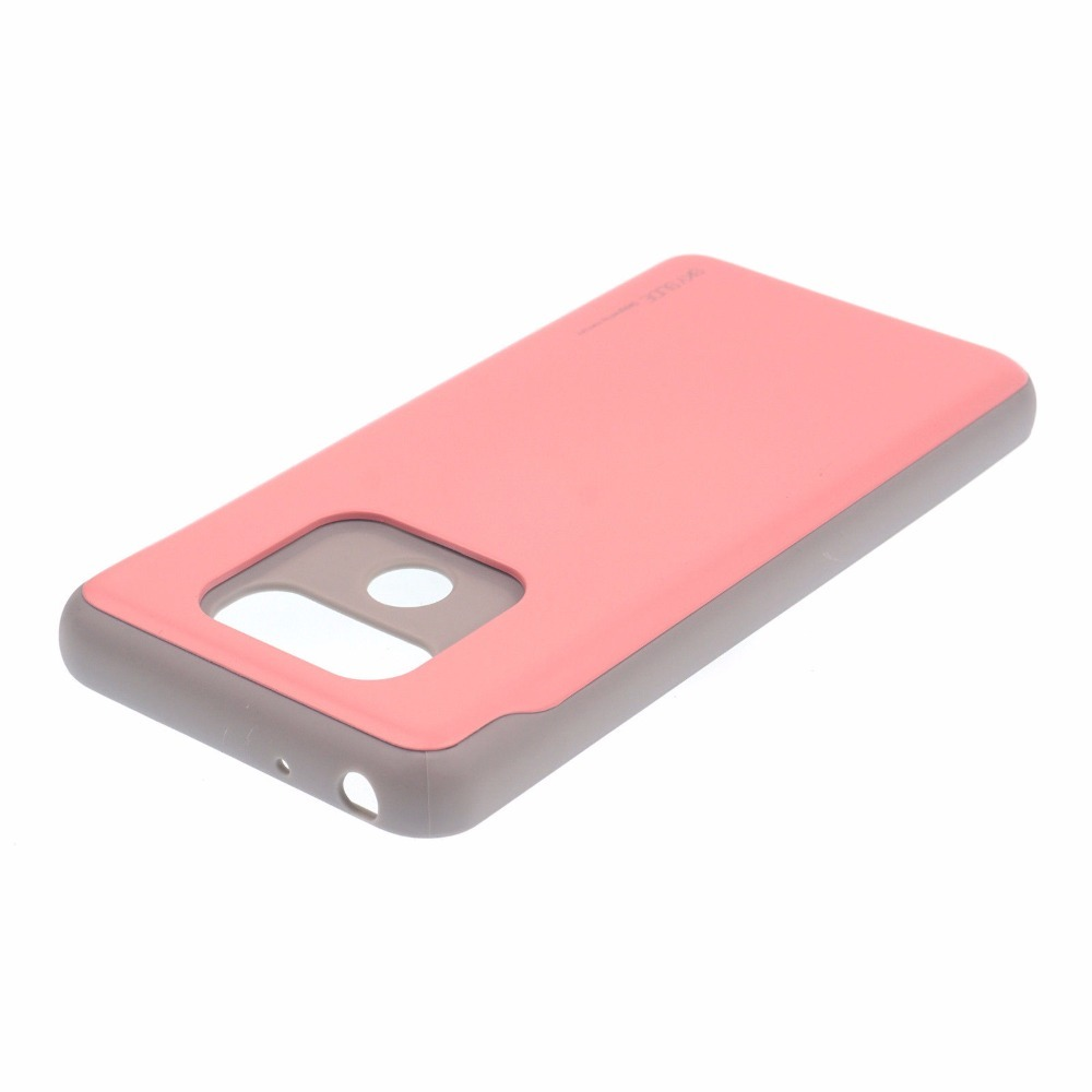 For Lg G6 G5 V20 Case Goospery Sky Slide Card Holder Slot Bumper Iphone 7 Plus Red Anti Shock Cover In Fitted Cases From Cellphones Telecommunications On