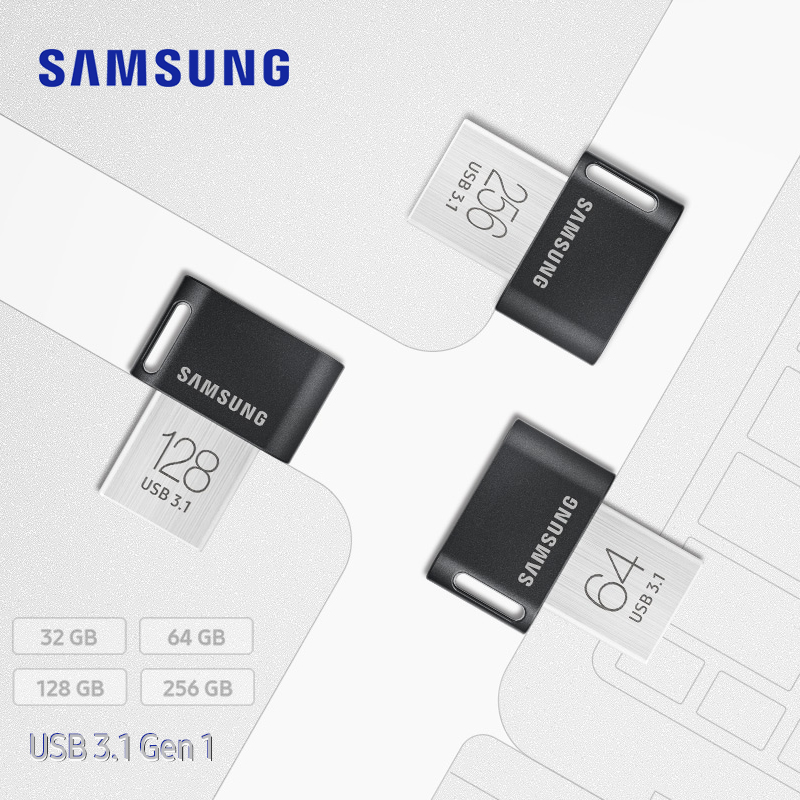 Samsung FIT USB 3 1 pendrive 64gb 32gb up to 200MB s  usb stick pen drive 128gb 256gb up to 300MB s Memoria usb flash disk