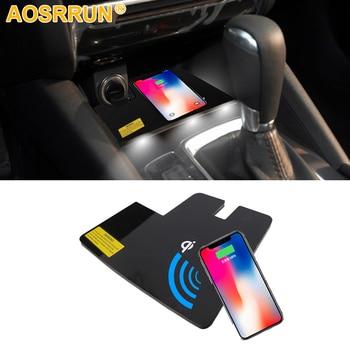 Специальная беспроводная зарядная панель QI для телефона, автомобильные аксессуары для Mazda 6 ATENZA 2016 2017 2018