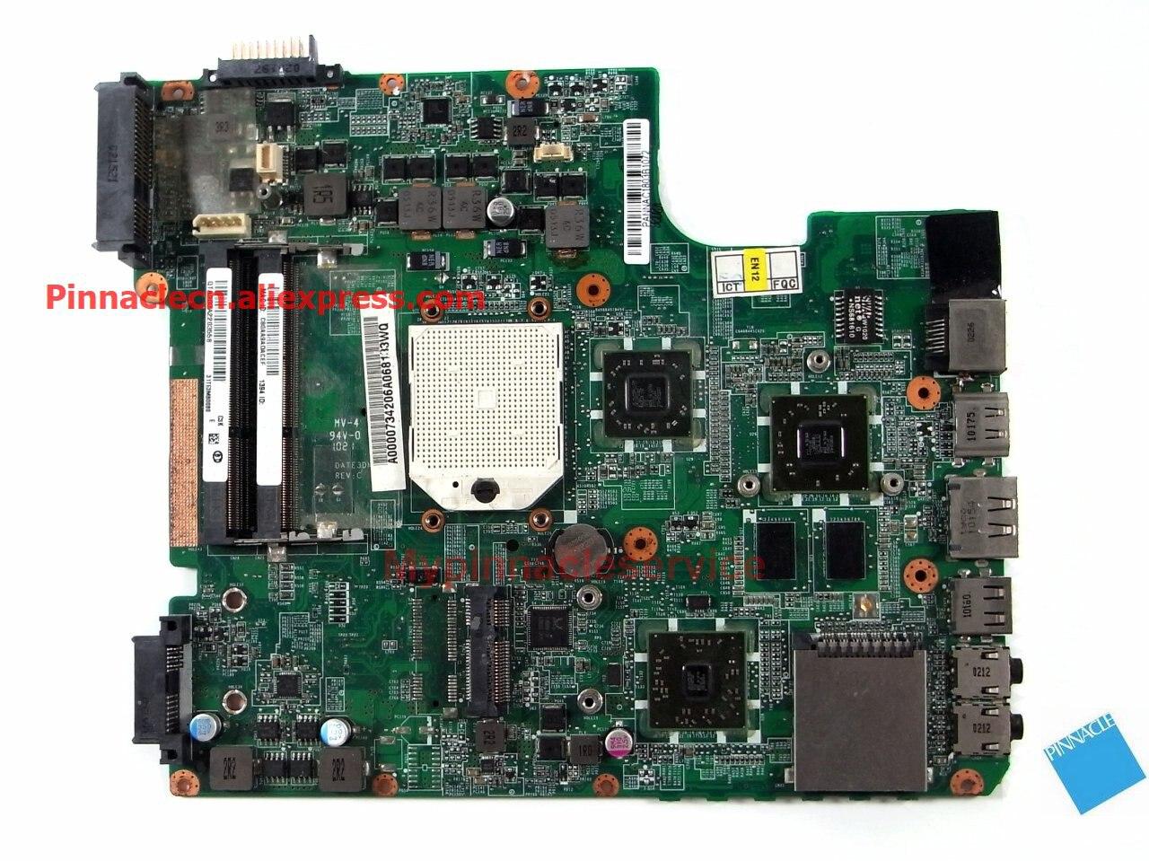 A000073420 CNPINNATEC Motherboard para Toshiba Salitelite L600D L640D L655D DATE3DMB8C0