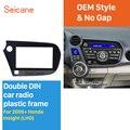 Seicane Улучшенный двойной Din автомобиль радио фасции Для 2009 + Honda Insight LHD в приборной панели комплект DVD панель Радио Рамка