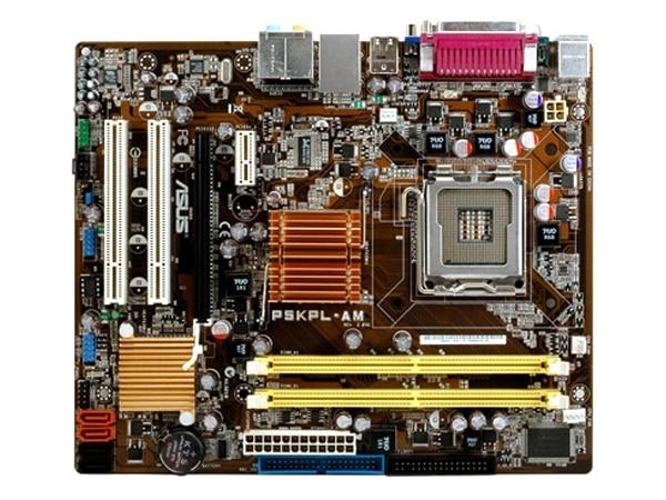 D'origine carte mère pour ASUS P5KPL-AM DDR2 LGA 775 pour Core Pentium Celeron 4 GB G31 De Bureau Carte Mère Livraison gratuite