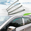 ACCESSORIES SET SIDE WINDOW RAIN DEFLECTORS GUARD VISOR WEATHERSHIELDS DOOR SHADE FIT FOR 2015 2016 SUBARU OUTBACK