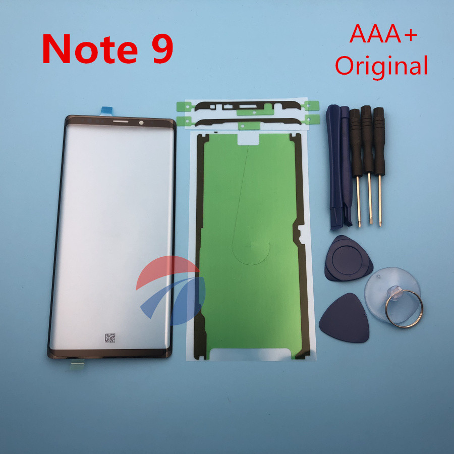 Replacement External Glass For Samsung Galaxy Note 9 Note9 N960 N960F LCD Display Touch Screen Front Glass External Lens + Tools