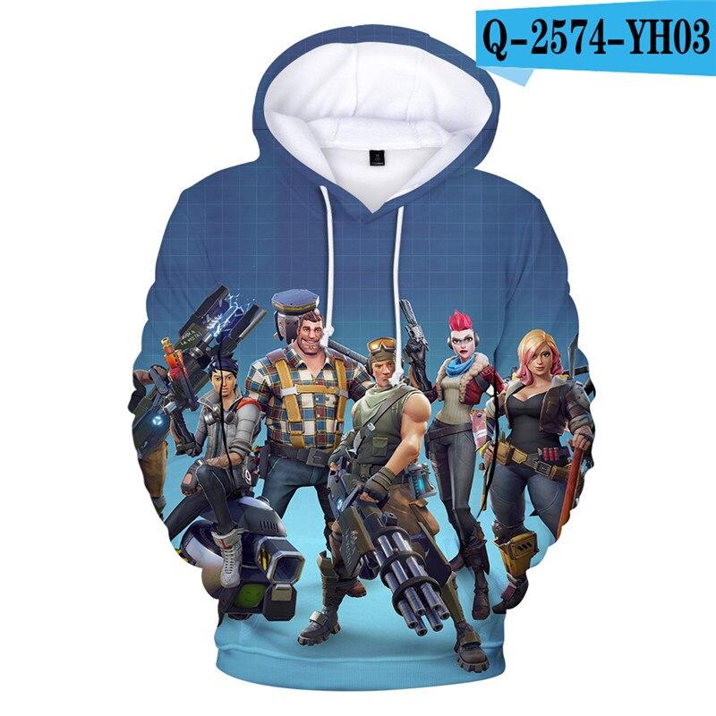 Fortniter Battle Royale Hoodie Fortniter Children Clothing Fortnight Game Game Clothings 3D Print Children Clothing Fortnight