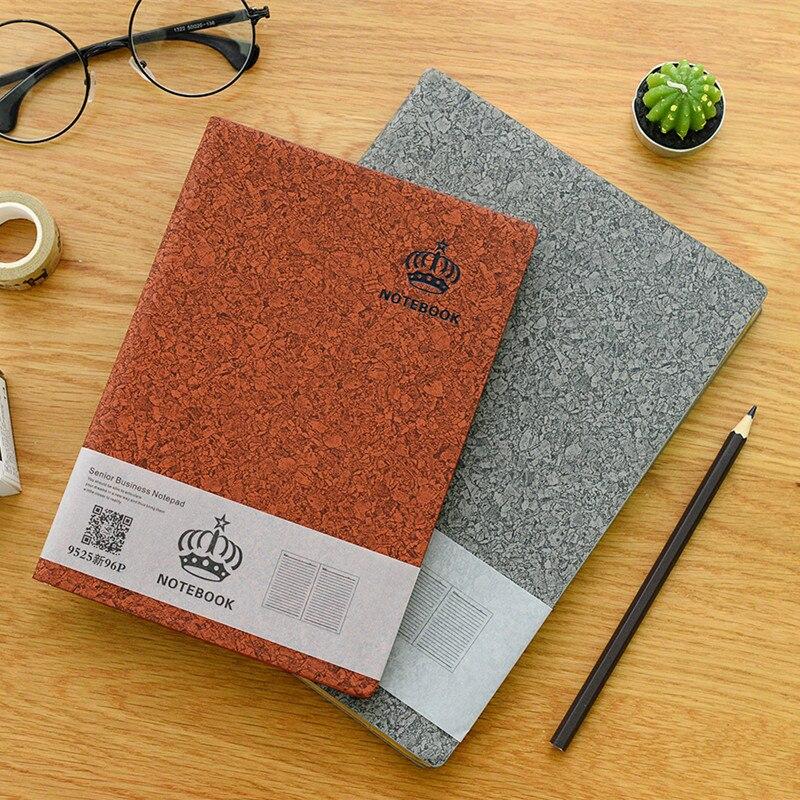Cheng Jia A5 Softcover Pu Leer Dagboek Notebook Kantoor School - Notitieblokken en schrijfblokken bedrukken