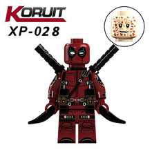 Deadpool Marvel Super Heroes XP028 Legoings Anti-heróis 2 X-Men Modelo Figuras de Ação Building Blocks DIY Brinquedo para Crianças legoing(China)