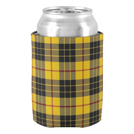 Old Scotsman Clan font b Tartan b font Can Cooler Wedding Accessories Neoprene Beer Holders Exquisite