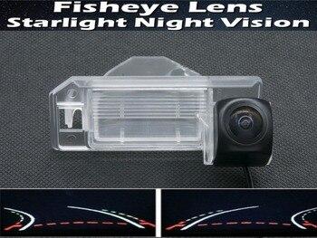 1080P Traiettoria Tracce Fisheye Macchina Fotografica di retrovisione per Mitsubishi ASX 2011 2012 2013 RVR Outlander Sport XL Auto macchina Fotografica di inverso