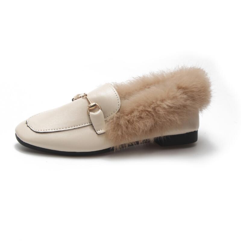 Hebilla 2018 Damas Invierno Piel Pu Botas photo Aike Metal Color Zapatos Plana Nuevas Cara Mujeres Asia Calientes Photo De Terciopelo Conejo Las Color q4wE6I5