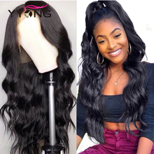 Yyong Hair 360 Lace Frontal Wig Pre Plucked With Baby Remy Human Peruvian Body Wave Wigs