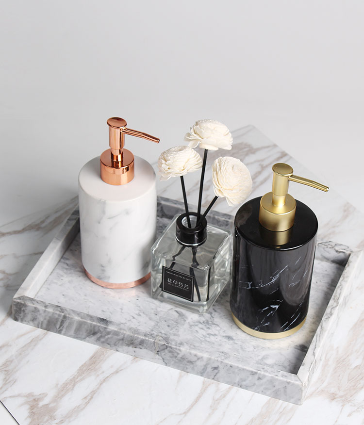 Fashion Nordic Style Bathroom Household Hand Pump Liquid Soap Dispenser Lotion Shampoo Bottle Dispenser Fitting Decoration