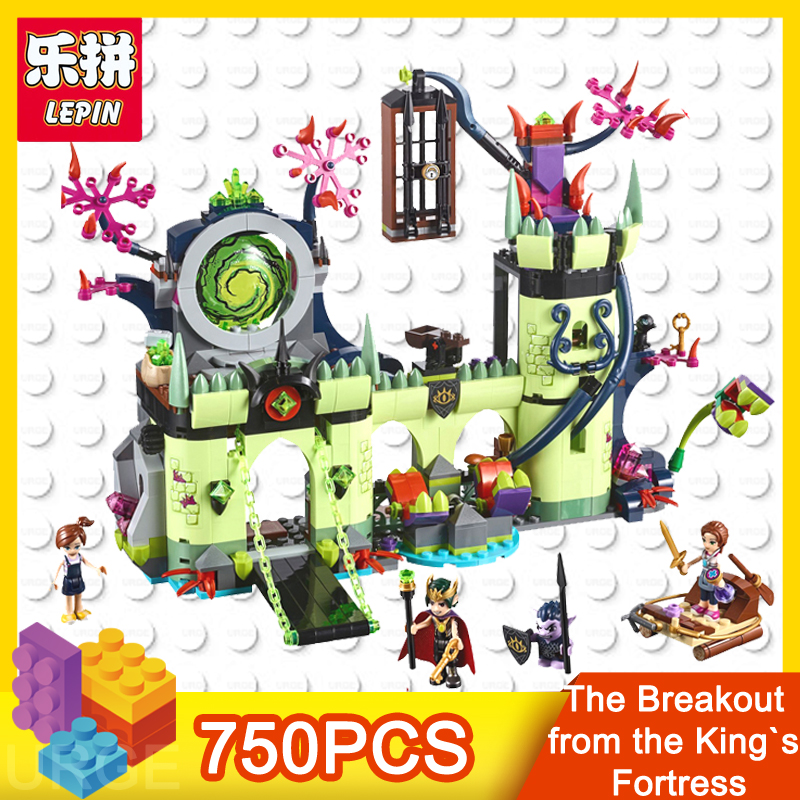 lepin girls friends The Breakout from the King's Fortress 750pcs bricks models building blocks toys for children Christmas gift lepin 30011 genuine 750pcs creative series the breakout from the king s fortress set 41188 building blocks bricks toy boy s gift