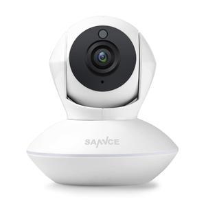 Image 1 - SANNCE 720P HD cámara IP inalámbrica inteligente 1.0MP Audio bidireccional IR visión nocturna cámara PTZ con WiFi CCTV seguridad del hogar monitor de bebé