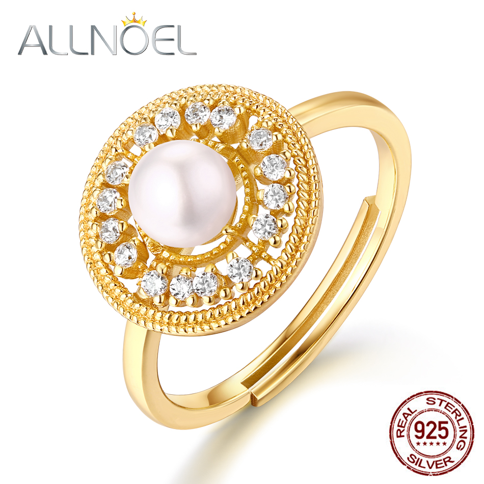 ALLNOEL Real  Gemstone Rings For Women 925 Sterling Silver Fine Jewelry Wedding Band Anniversary Engagement Handmade Halo RingALLNOEL Real  Gemstone Rings For Women 925 Sterling Silver Fine Jewelry Wedding Band Anniversary Engagement Handmade Halo Ring