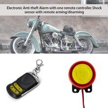 1St мотоцикл блокировки сигнализации Системы с удаленным Управление Anti Theft Рог Warner безопасности Системы удаленного Управление запуска двигателя