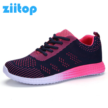Ziitop Running Shoes For Women Mesh Athletic Sports Shoes Janoski Sneakers Women 2017 Zapatillas Deporte Mujer Female Flat Shoes