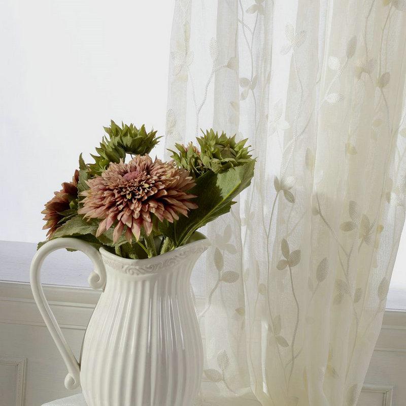 Λευκά είδη Κουρτίνες για σαλόνια - Αρχική υφάσματα - Φωτογραφία 5