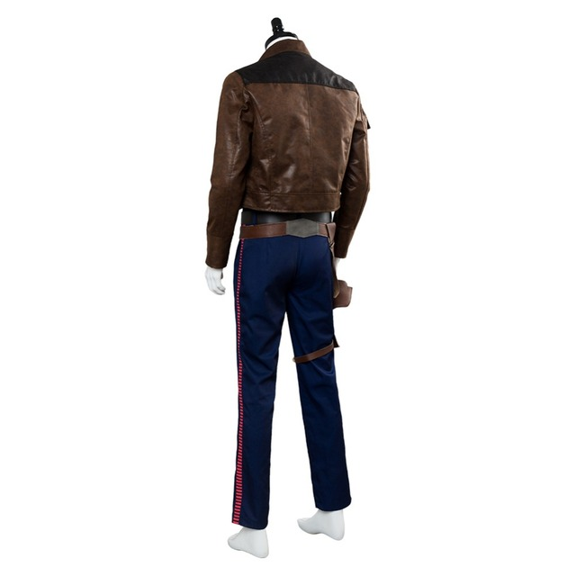 Solo: A Star Wars Story Han Solo Cosplay Costume Custom Made 4