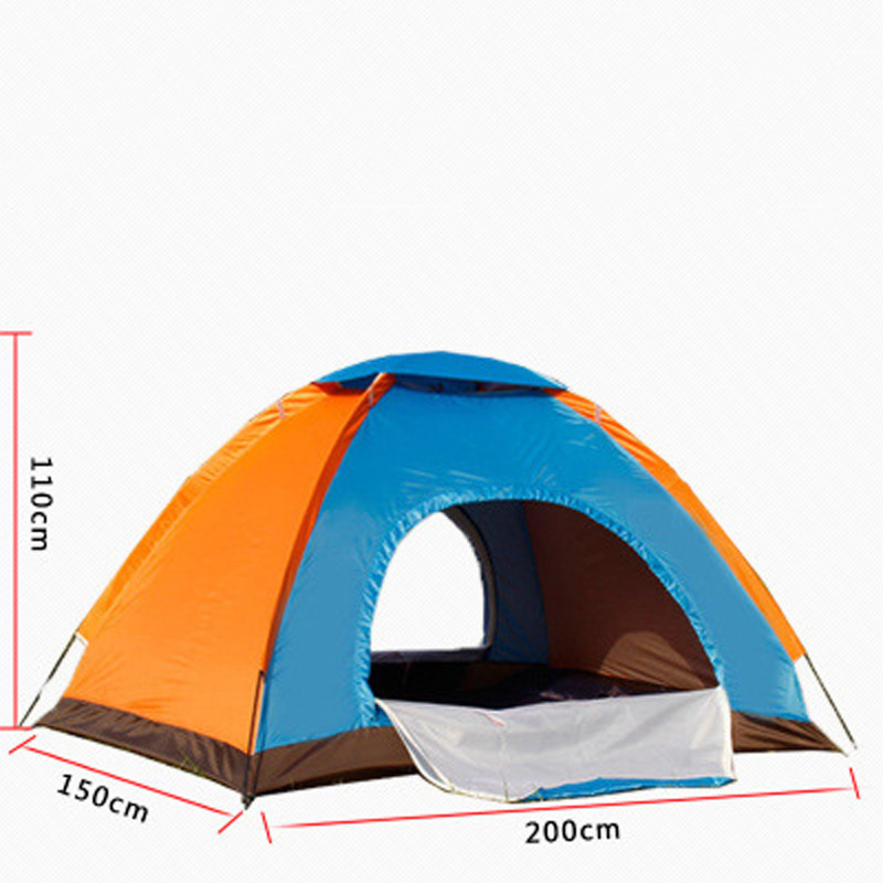 Outdoor umbrella Automatic Camping Tent Ship From Beach Tent 3 Persons Tent Instant Pop Up Open Anti UV Awning Tents Sunshelter baby beach tent portable outdoor beach pool playing house uv protecting sunshelter with pool waterproof pop up awning tent