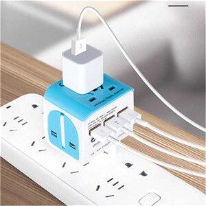Image 5 - Naturehike Outdoor Tools Transverter Socket Conversion Plug Adapter Universal Travel Socket USB Connector for US UK EU