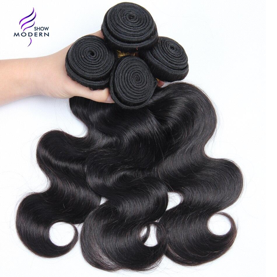 Moderne Afficher Cheveux Malaisienne Vague de Corps Cheveux Bundles Offre 100% de Cheveux Humains Extension 3 et 4 Paquets Disponibles NonRemy Livraison gratuite
