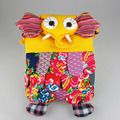 Vintage Embroidery Canvas Ethnic Elephant Bag handmade cotton Girl Small Mini Travel backpack Rucksack shoulder bag Children