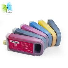 Winnerjet 6 colors X 700ML PFI-706 full ink cartridge with pigment for Canon IPF8400SE printer cartridges