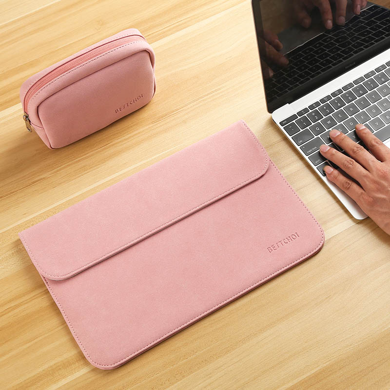 Image 5 - Laptop Bag Case 11 12 13 14 15 15.6 inch for Macbook air Xiaomi pro 13.3 Asus Dell Notebook Sleeve 14.1 Waterproof Matte Cover-in Laptop Bags & Cases from Computer & Office