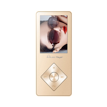 De Metal de alta calidad Reproductor de MP3 Altavoz Incorporado 8 GB con Radio FM, E-Book, Grabadora de Voz de Sonido Sin Pérdidas Walkman