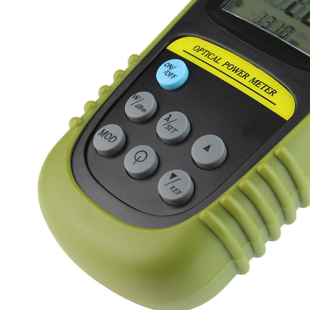 Fiber Optical Power Meter Cable Tester 6dbm 70dbm Audio Test Range Color Green Size 165 X 35 8 Cm 2 Aaa Batteriesnot Inclued Package Included 1