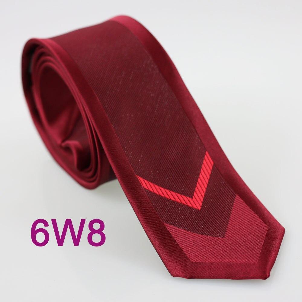 YIBEI coahella Галстуки Галстук бордового цвета для мужчин с красными стрелками вертикальные полосатые Gravatas De Seda классические блестящие Галстуки узкие