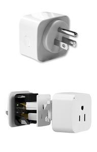 Image 2 - Wifi Smart Socket Smart Plug Tuya Smart Life App  US Plug  Remote Control Alexa Google Home Mini IFTTT Supports 2.4GHz Network