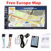 7 Inch 2DIN HD Car GPS Navigation 8GB Europe Map MP3 Player Car Bluetooth Stereo FM