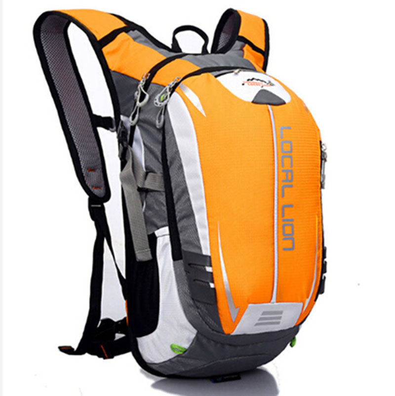 LOCALLION Cycling Backpack Bike Riding Bag Rucksack Outdoor Sports Daypack for Running Hiking Camping Travelling Ultralight 18L brand creeper 30l professional cycling backpack waterproof cycling bag for bike travel bag hike camping bag backpack rucksacks